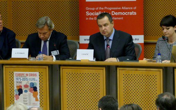 Учешће Дачића на конференцији поводом 40 година од усвајања Хелсиншког завршног акта