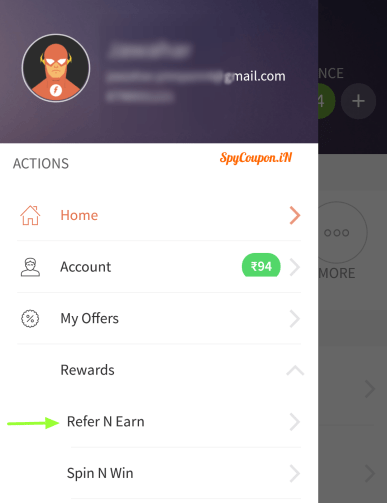 freecharge refer and earn program