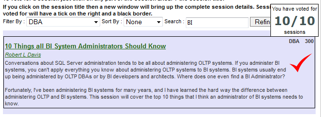 10 Things all BI System Administrators Should Know