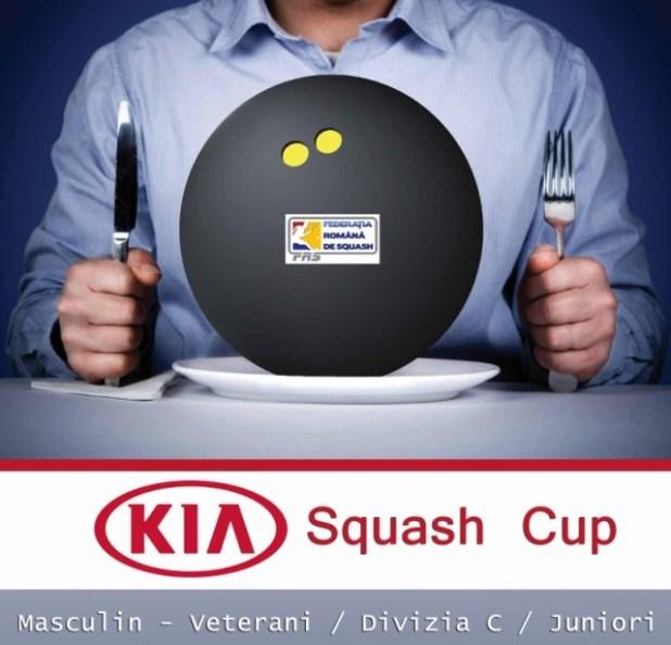kia squash cup la squash court bucuresti juniori, veterani si div C