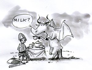 the legend of the dragon cow