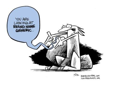 Brand name generic squirrel