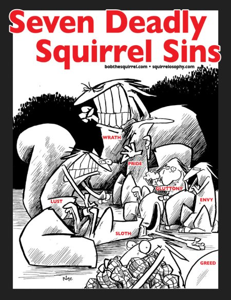 seven deadly squirrels