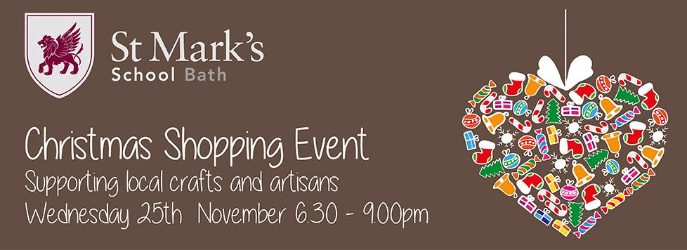 Christmas Shopping Event – Wednesday 25th November