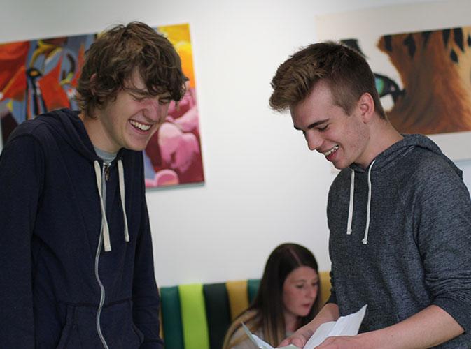 St Mark's students celebrate A Level success