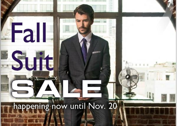 2016 Fall Suit Sale Staccato Menswear Vancouver