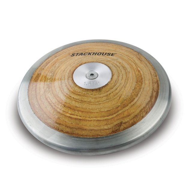 wood discus designed for throwers who want an economical wood discus
