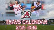 arkansas travelers - calender - la angels