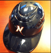 batting helmet - nw arkansas naturals - kansas city royals