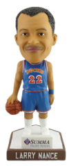 larry nance bobblehead - akron rubber ducks - cleveland indians