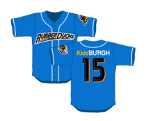 replica jersey - akron rubber ducks - cleveland indians