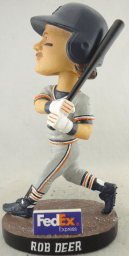 rob deer bobblehead - west michigan whitecaps - detroit tigers