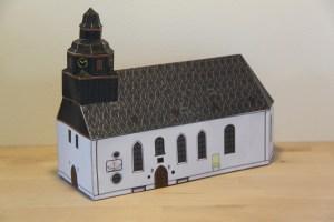 Modell der Lutherkirche, erhältlich im Griesheimer Museum