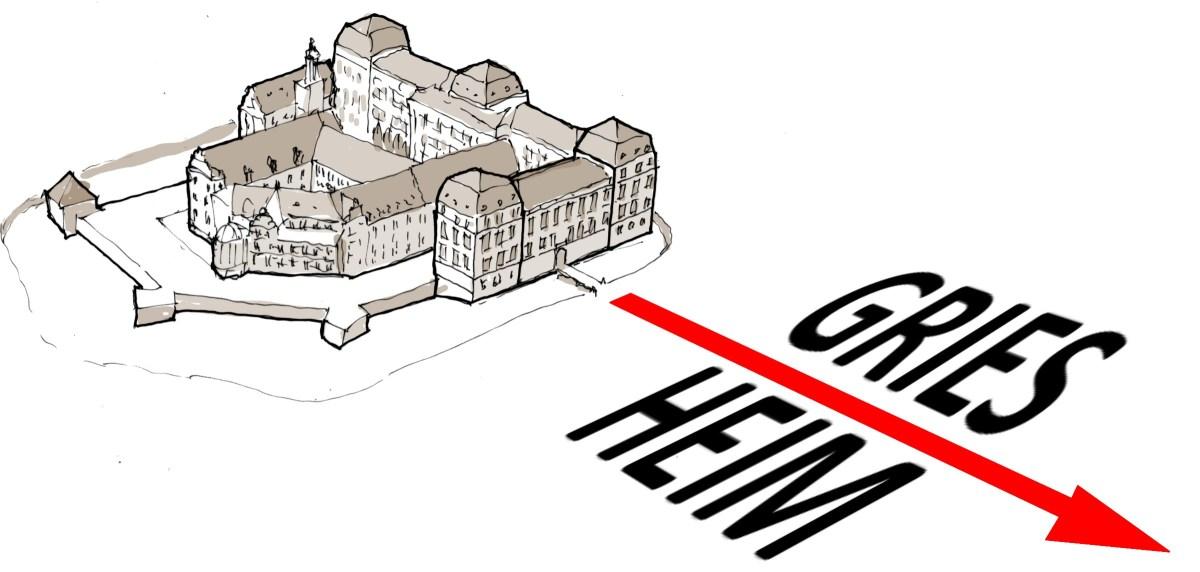 Als Louis D. die Teilung Griesheims in Nord und Süd beschloss