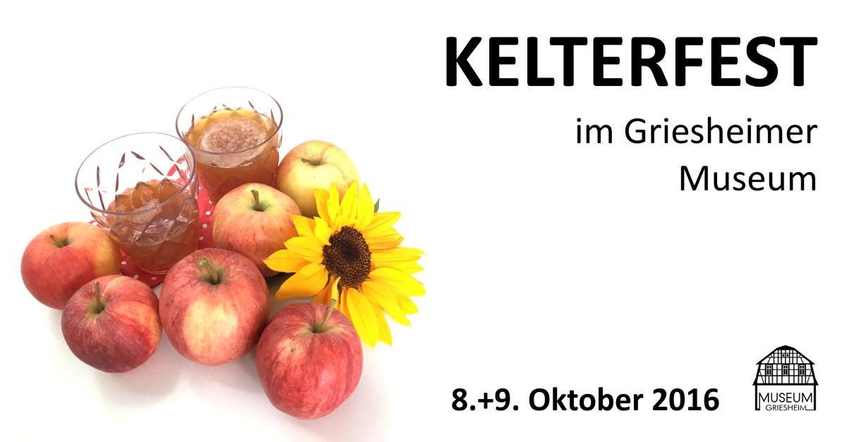 Kelterfest 2016 im Museum