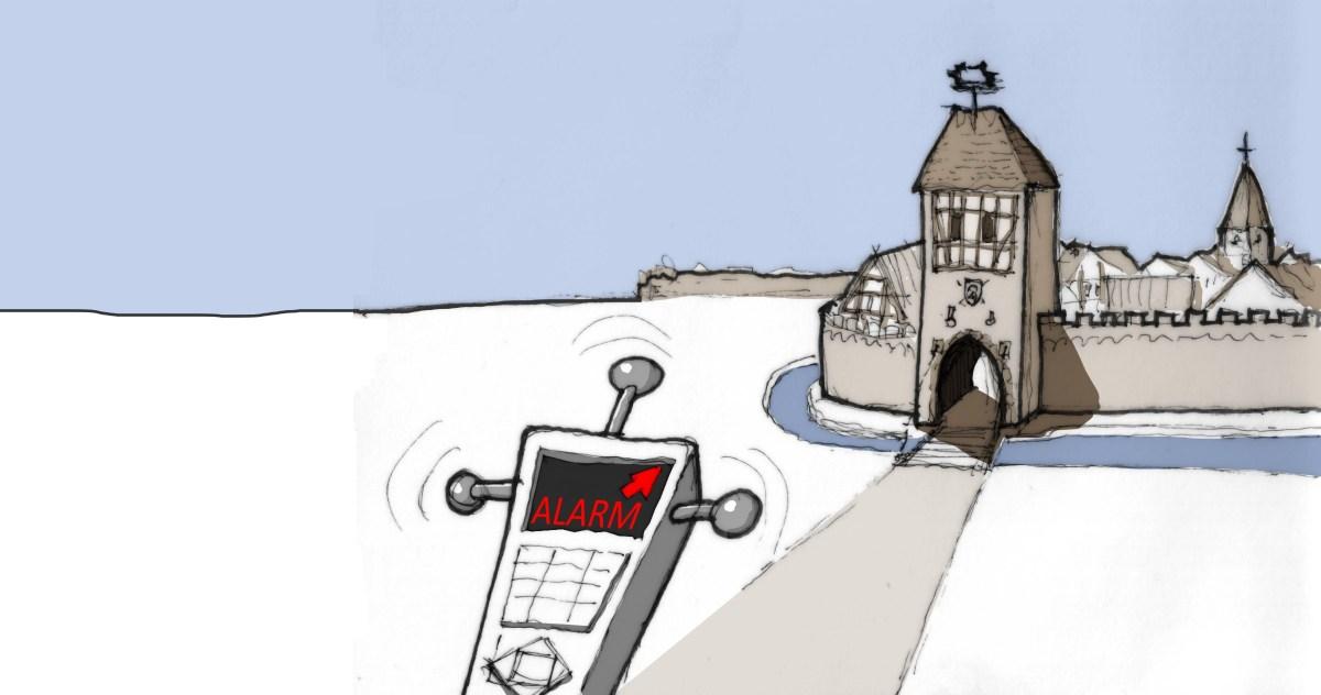 Stadttor-Detektor
