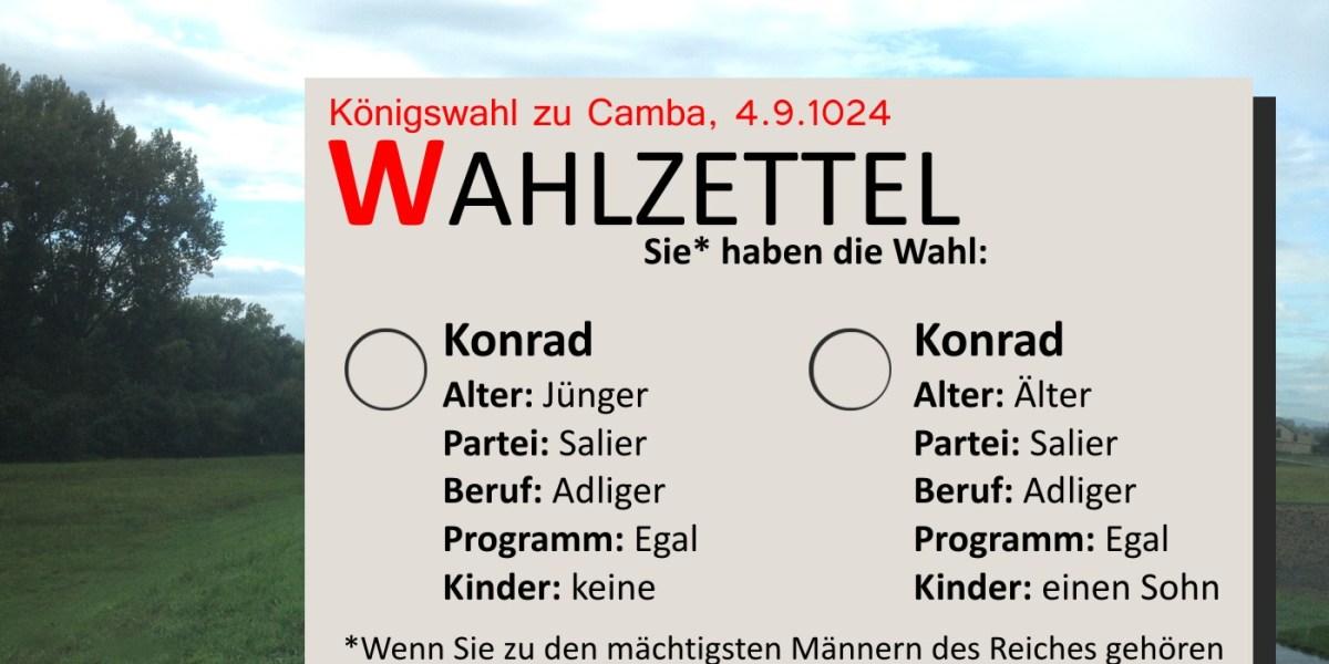 Die Königswahl bei Leeheim