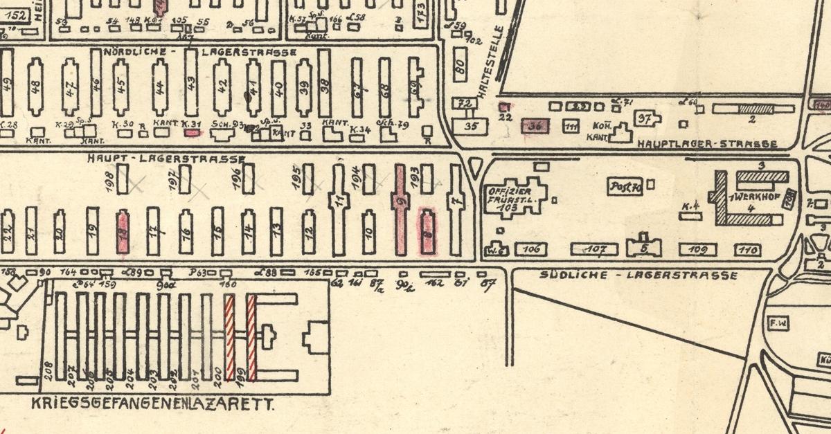 Das Griesheimer Militärlager 1915