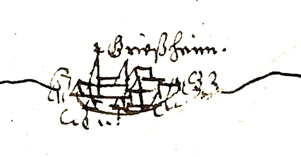 Die älteste Darstellung Griesheims