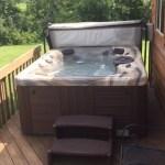 Stafford Cabin Modern Hot Tub