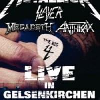 Trash Metal-Overkill in Gelsenkirchen mit Metallica, Slayer, Anthrax und Megadeath