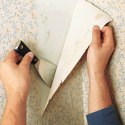 Removing Wallpaper