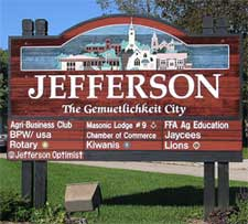 Jefferson Wisconsin staging