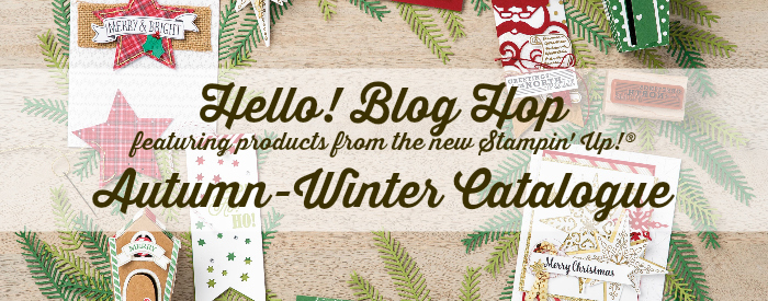 Hello! Blog Hop AutumnWinter Catalogue header