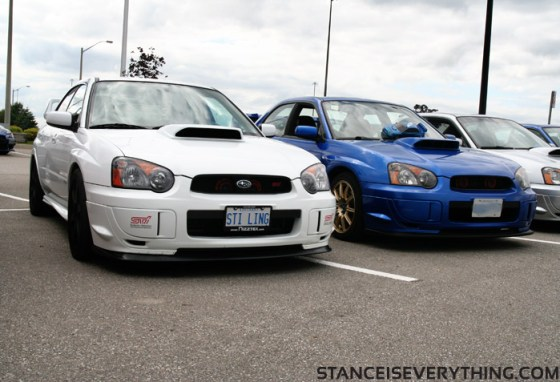 If the car on the left beats you, you just got spanked by a girl