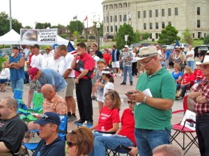 Crowd Gathers at Oklahoma Rally for Healthcare Independence