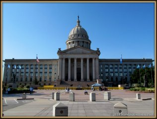 State Capitol bulding of Oklahoma