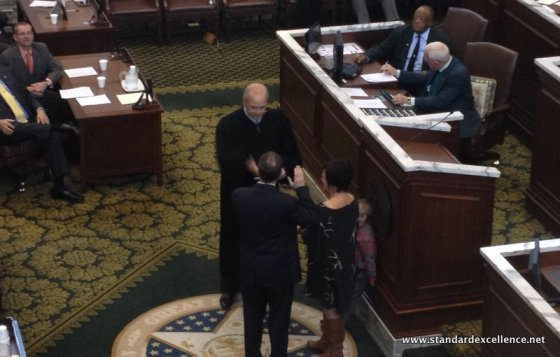 Oklahoma Speaker Jeff Hickman sworn in