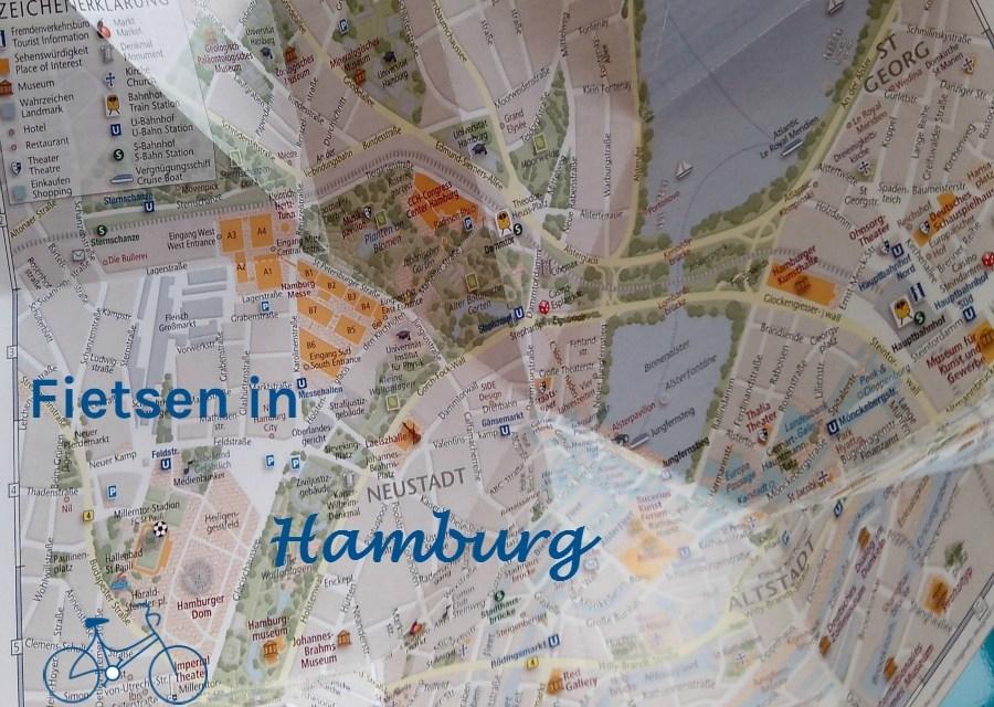 Hamburg op de fiets
