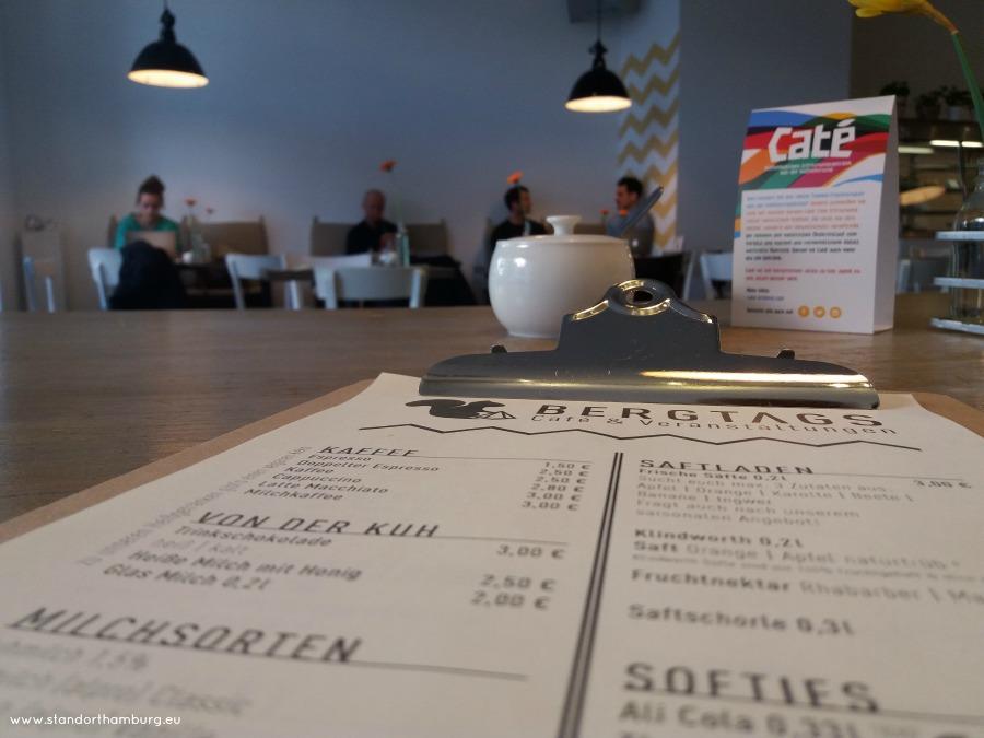 Kaffee und Kuchen in Hamburg - Bergtags - Standort Hamburg