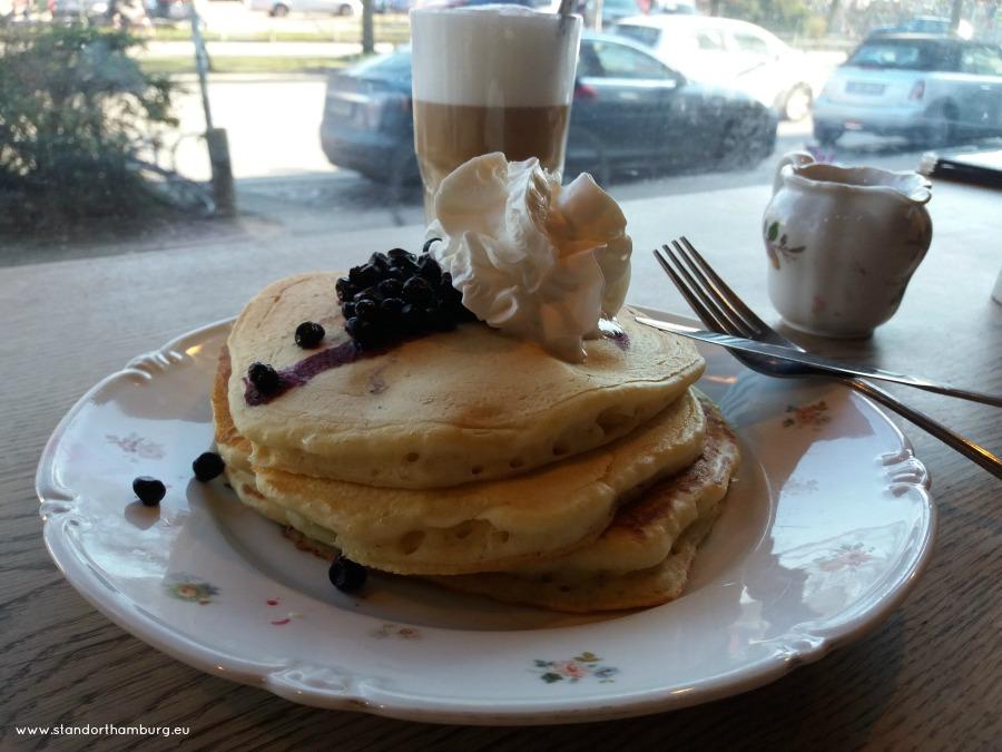 Kaffee und Pancakes - Mamalicious - Standort Hamburg