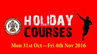 Autumn Holiday Courses – Book now!