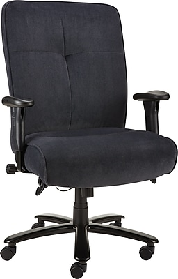 Staples Nigel Fabric Big And Tall Chair Steel Blue