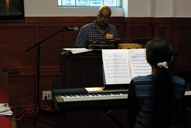 Morning Music with James McBride, by Emily Kluver