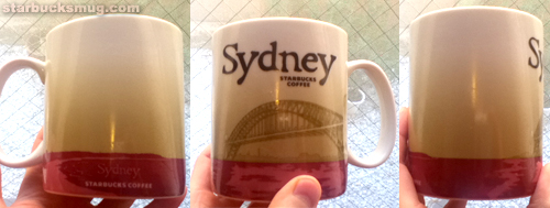 Starbucks Coffee Sydney Australia City Mug