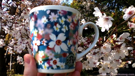 Starbucks Japan Sakura 2007 Mug