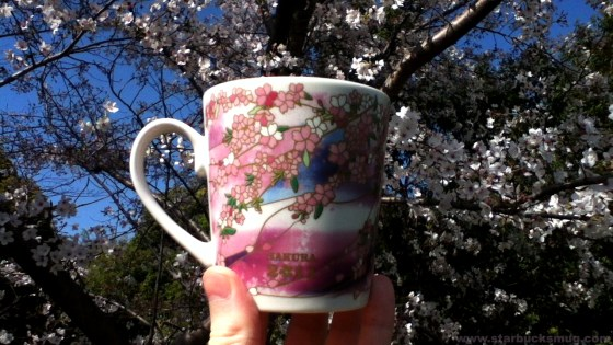 Starbucks Japan Sakura 2011 Coffee Mug