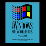 Windows for Workgroups 3.11 Splash Screen