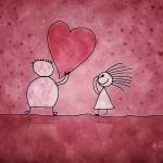 valentine stick figures