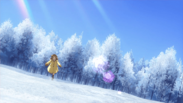 kanon - ayu running in snow