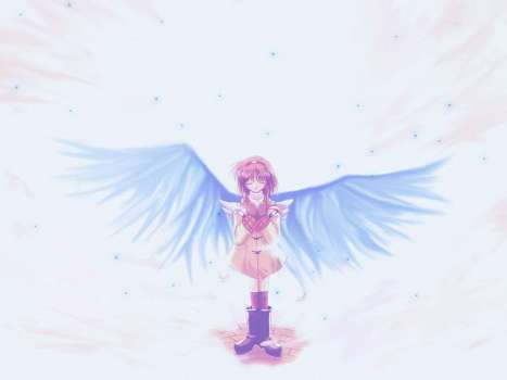 kanon - ayu with wings