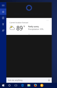 windows 10 cortana