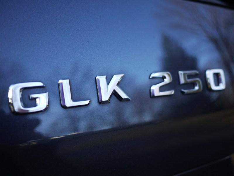 GLK 250 badge