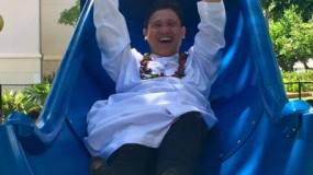 Playground - Fr Pat Slide