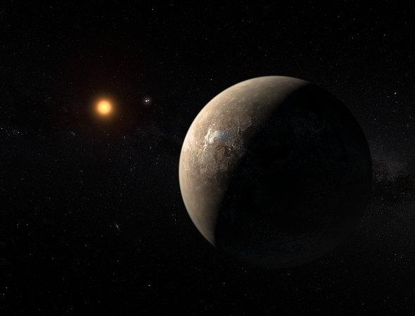 Planet of Proxima Centauri