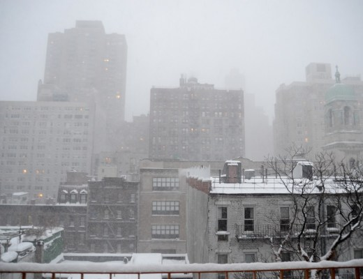 NYC Jonas Blizzard Snow Manhattan